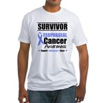 Esophageal Cancer Fitted T-Shirt