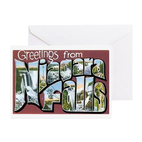 Niagara Falls New York NY Greeting Cards (Pk of 10