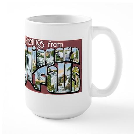 Niagara Falls New York NY Large Mug