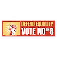 Vote No on 8 Bumper Bumper Sticker