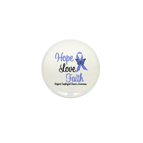 Esophageal Cancer Mini Button