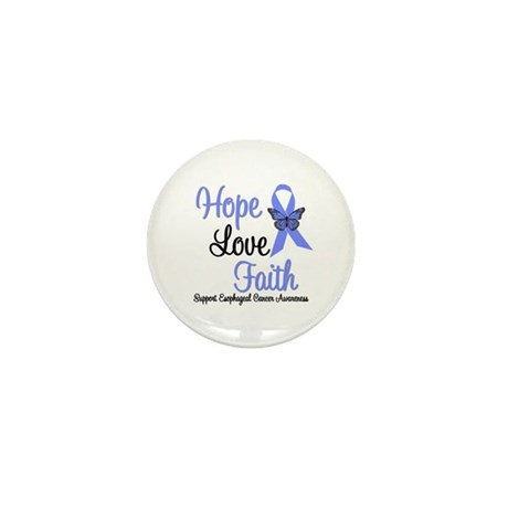 Esophageal Cancer Mini Button (10 pack)