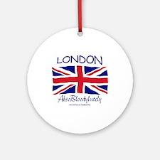London Absobloodylutely Keepsake (Round)