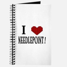 I love needlepoint! Journal
