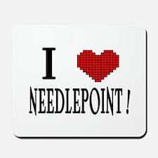 I love needlepoint! Mousepad