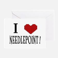 I love needlepoint! Greeting Card