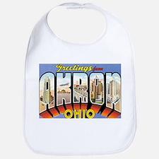 Akron Ohio OH Bib