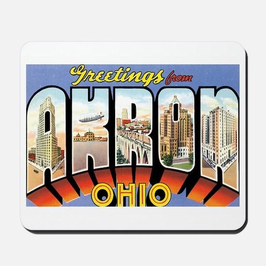 Akron Ohio OH Mousepad