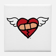"""Winged Heart"" Tile Coaster"