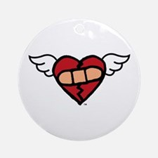 """Winged Heart"" Keepsake (Round)"