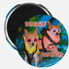 Doggie Baywatch Magnet