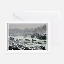 Winter Potomac Greeting Cards (Pk of 10)
