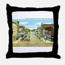 Bowling Green Ohio OH Throw Pillow