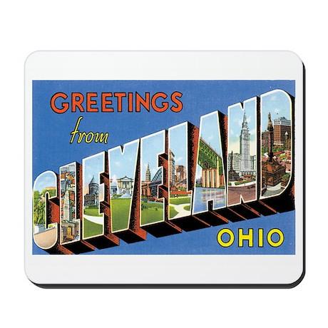Cleveland Ohio OH Mousepad