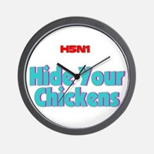 Unique Avian flu Wall Clock