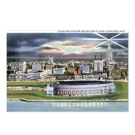 Cleveland Ohio OH Postcards (Package of 8)