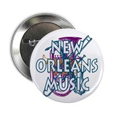 """New Orleans 2.25"""" Button (100 pack)"""