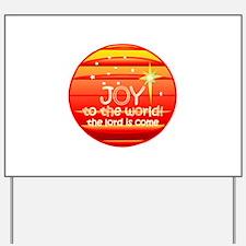 Cool Christmas joy Yard Sign