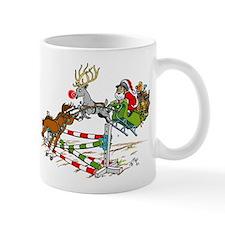 Santa Jumping Horse Jump Mug