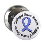 """Esophageal Cancer 2.25"""" Button"""