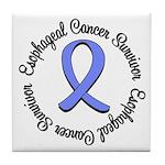 Esophageal Cancer Tile Coaster