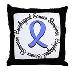 Esophageal Cancer Throw Pillow