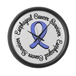Esophageal Cancer Large Wall Clock