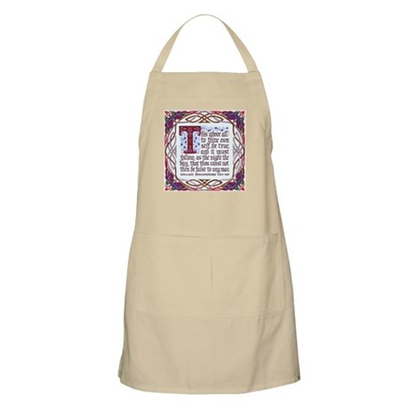 To Thine Own Self Be True BBQ Apron