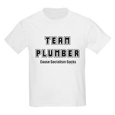 Team Plumber Socialism Sucks T-Shirt