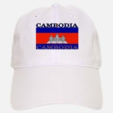Cambodia Cambodian Flag Baseball Baseball Cap