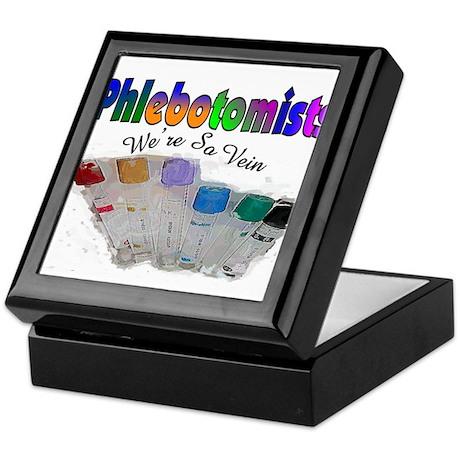 More Phlebotomist Keepsake Box