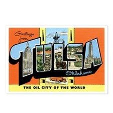 Tulsa Oklahoma OK Postcards (Package of 8)