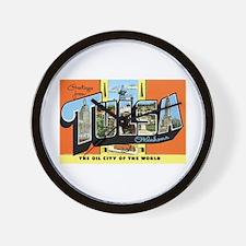 Tulsa Oklahoma OK Wall Clock