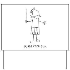 Gladiator Sum Yard Sign