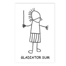 Gladiator Sum Postcards (Package of 8)