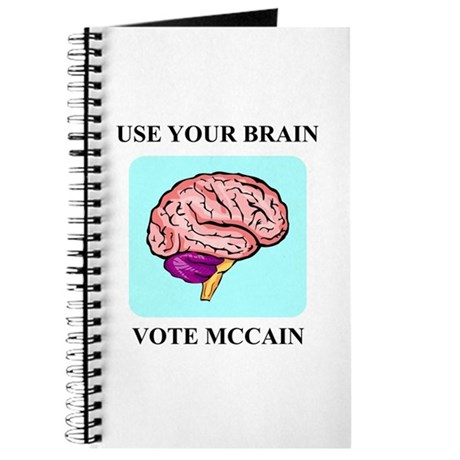 Use Your Brain, Vote McCain Journal