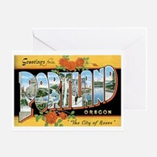 Portland Oregon OR Greeting Card