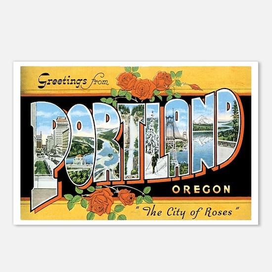 Portland Oregon OR Postcards (Package of 8)
