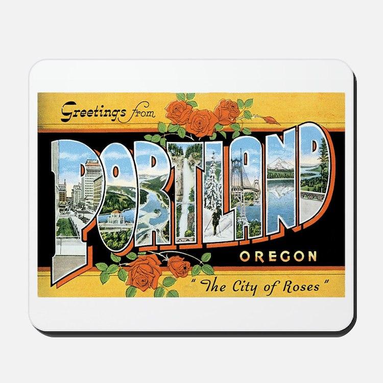 Portland Oregon OR Mousepad