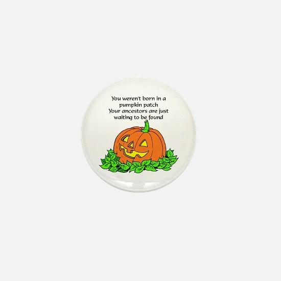 Genealogy Halloween<br> Mini Button
