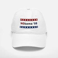 NObama '08 Baseball Baseball Cap