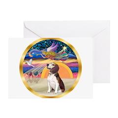 XmasStar/Beagle 2 Greeting Card