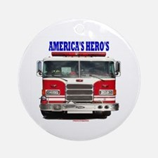 AMERICA'S HERO'S Ornament (Round)