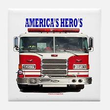 AMERICA'S HERO'S Tile Coaster