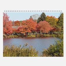 2015 Colors Of Autumn Wall Calendar