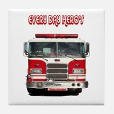 EVERY DAY HERO'S Tile Coaster