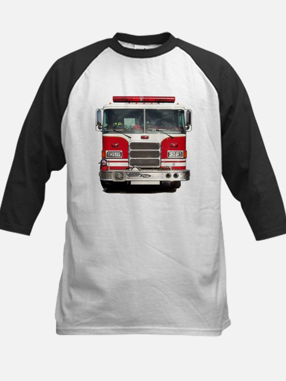 PIERCE FIRE TRUCK Kids Baseball Jersey