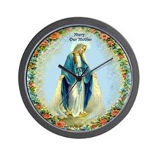 Mary, Our Mother Wall Clock