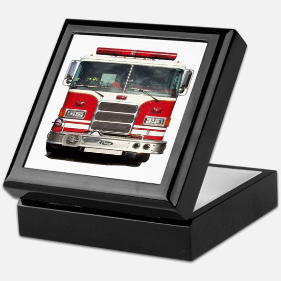 PIERCE FIRE TRUCK Keepsake Box