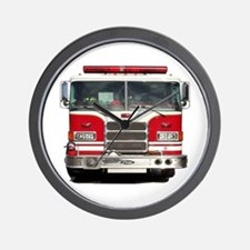 PIERCE FIRE TRUCK Wall Clock
